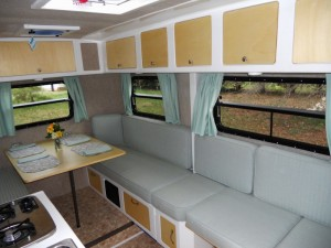 ParkLiner Camper Trailer with ample storage and seating
